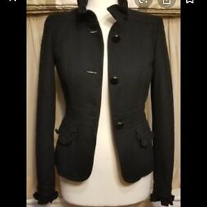 NWOT J. Crew Celtic Country wool cropped blazer
